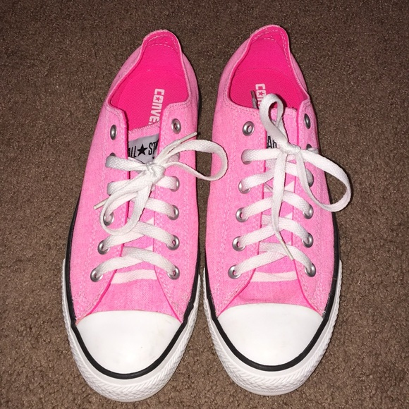 9e4e057c30c9 Converse Shoes - Hot pink Converse Chuck Taylor All Star sneakers